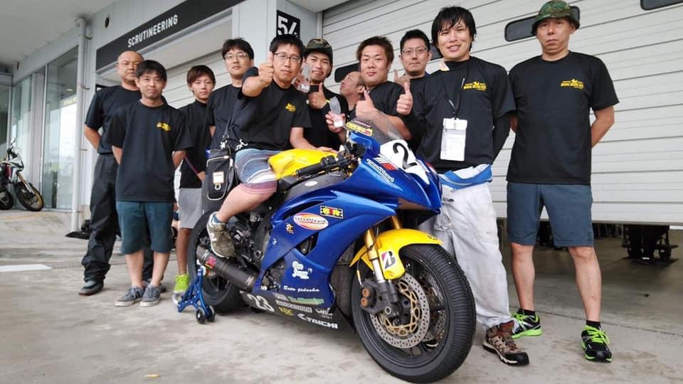 ST600 4耐 レース後
